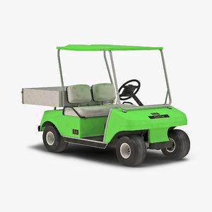 golf cart green 3ds