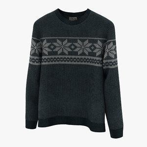 3d sweater design