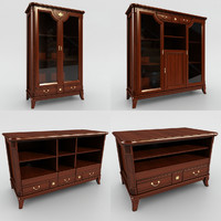 cupboard dresser angelo cappellini 3d max