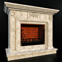 classic fireplace 3ds