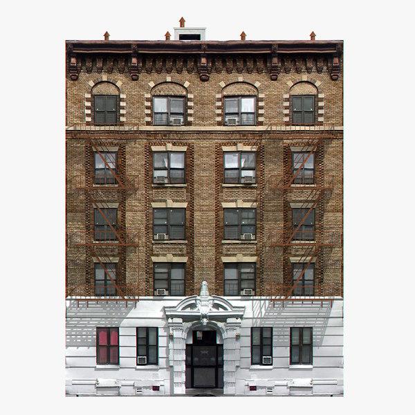 3d model photorealistic new york house