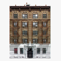 3d model photorealistic new york house