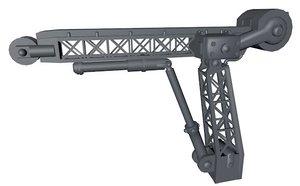 3d pulley crane