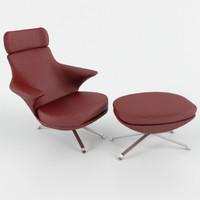 Lounge Chair Minotti