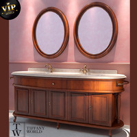 furniture tiffany world firenze 3d model