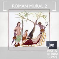 Roman Mural 2