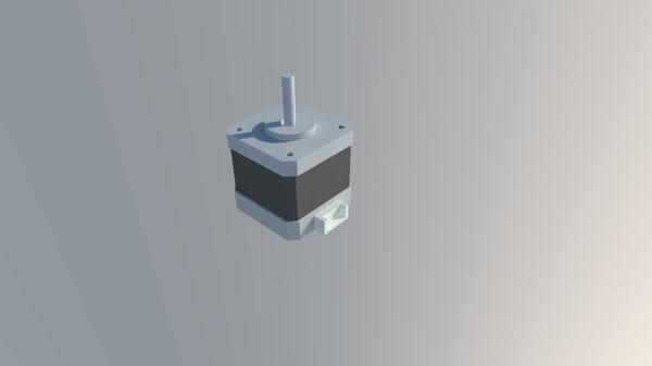 3d nema 17 stepper motor