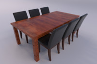 3ds dining room set
