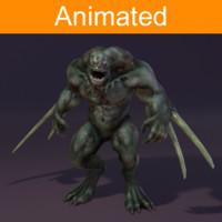 Character Reptil