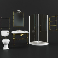 3d model bathroom furniture laufen