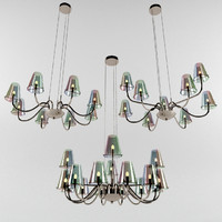 3d model ideal lux chandelier