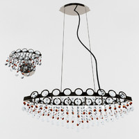 ideal lux chandelier 3d model