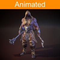 Character Barbarian
