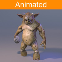 3d character beast
