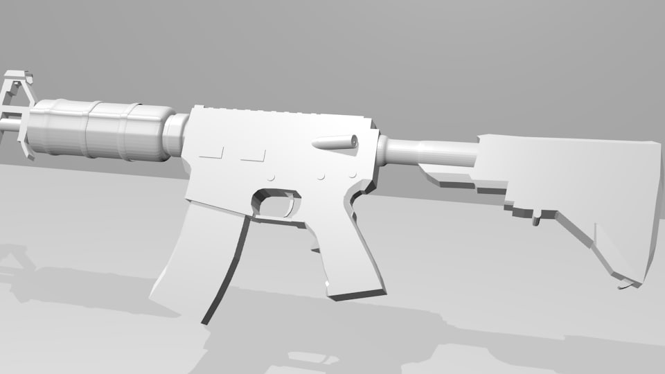 weapon blender fbx free