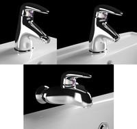 3d model mixer faucet