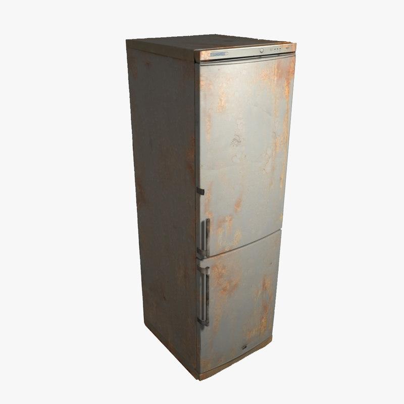 rusted refrigerator max
