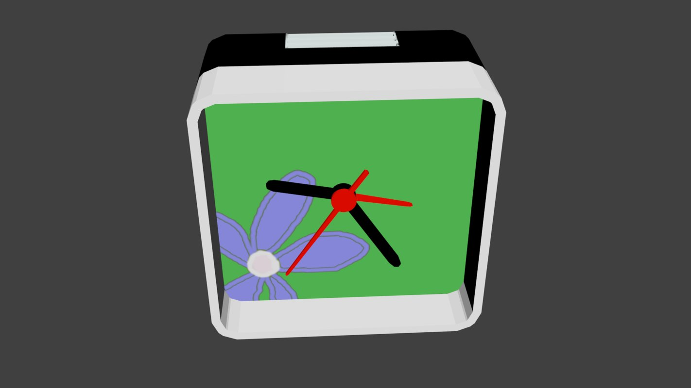free obj mode alarm clock
