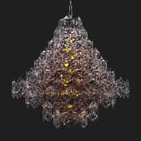 hermitage eichholtz chandelier 3d model