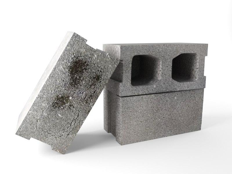brick 3d model
