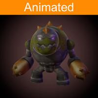 character golem 3d fbx