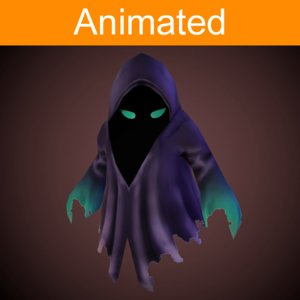 3d model character ghost