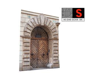 old city gate 8k obj