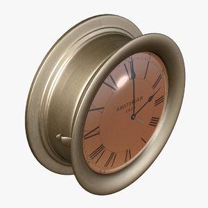 max clock wall naval