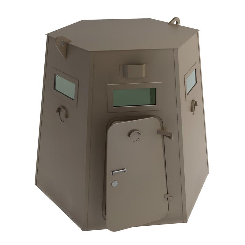 3d bunker metall