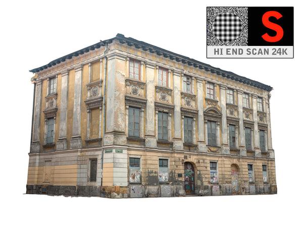 obj building facade