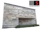 Concrete facade 16K
