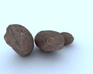 3d model of rock