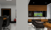 office interior 3d max
