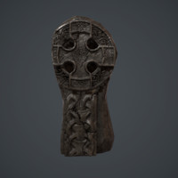 eltic cross 3d x