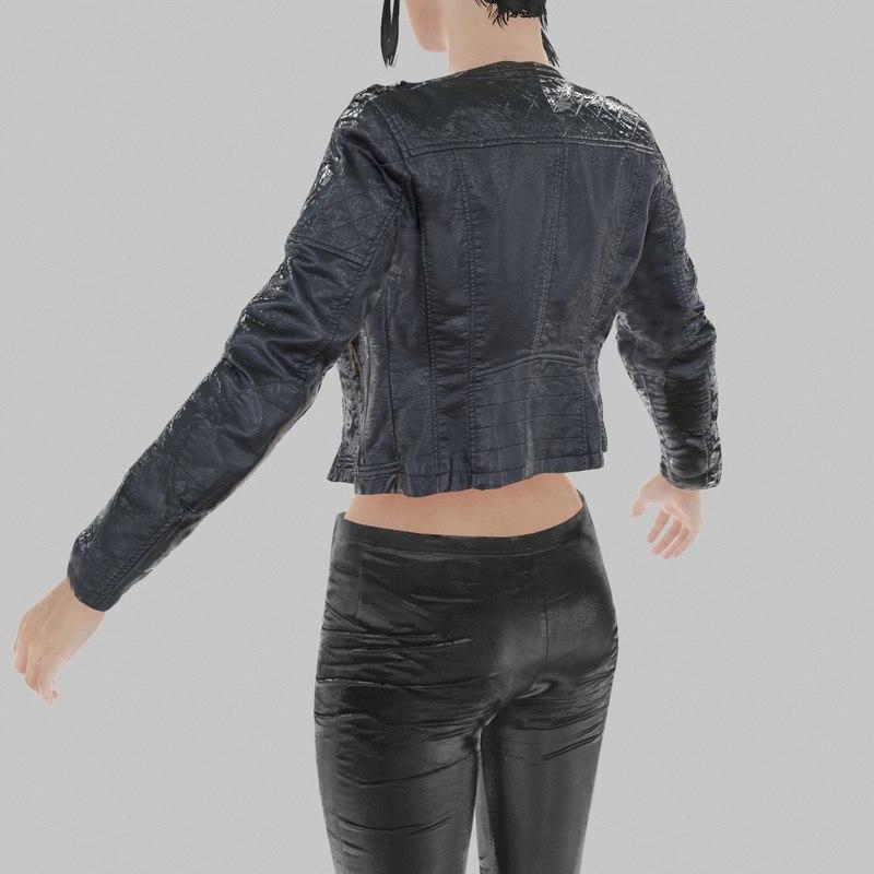 fbx leather jacket