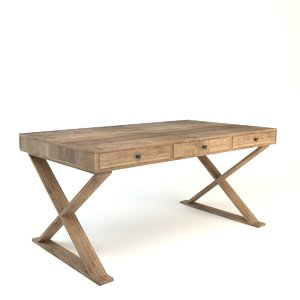 old rustic desk max