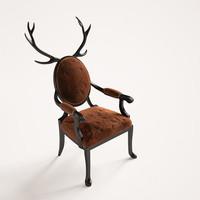 3d model hybrid chair