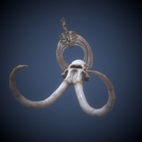 mammoth skeleton fbx