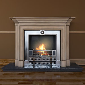 fireplace classical max