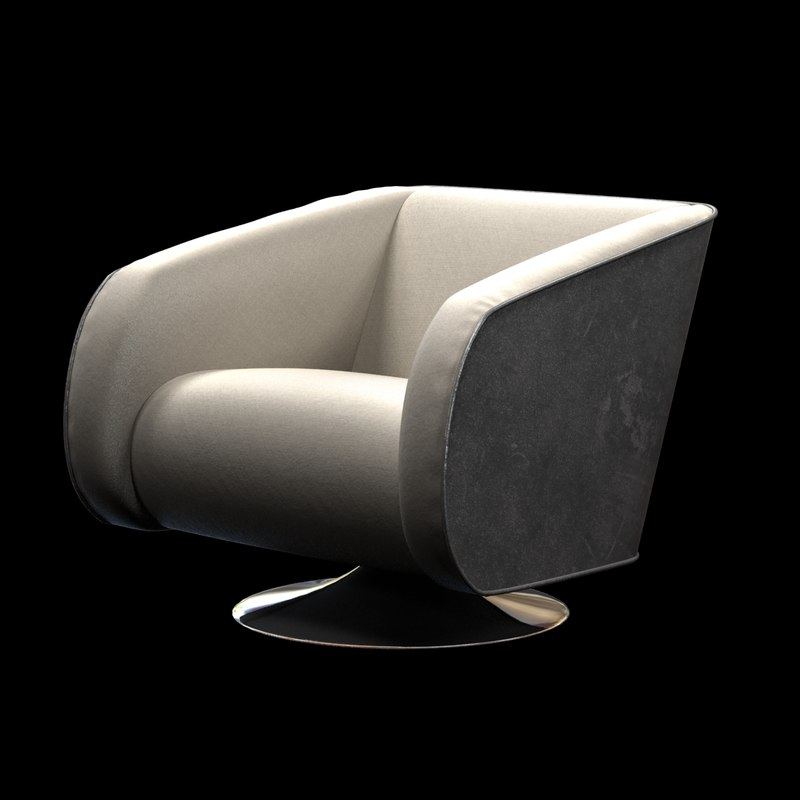 3ds lounge chair