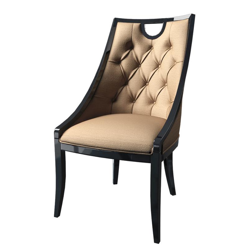 cavio line chair 3d max