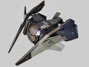 drone battle 3d max
