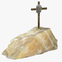 3d christ statue