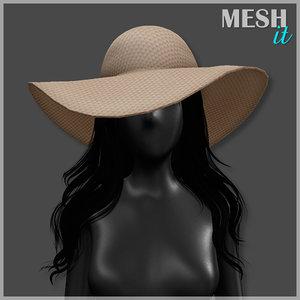 hat summer 3ds