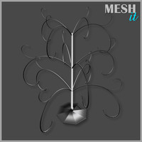 tree decor 3d model