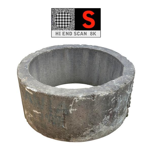 concrete scan 8k 3d model
