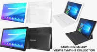 Samsung Galaxy TabPro S & View Collection (Rigged)