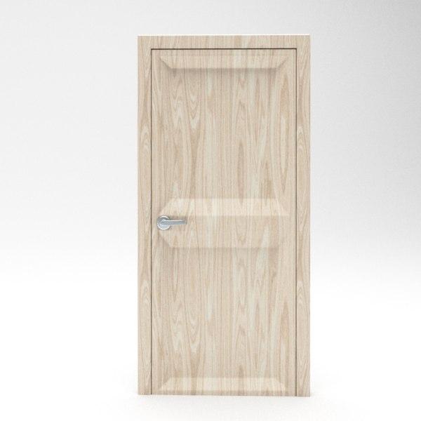 3d door blender