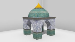 oriental diffuse normal 3d model