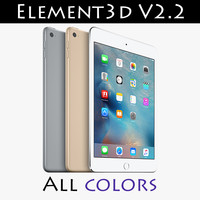 iPad Mini 4 Element3D V2.2